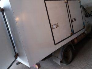 Замена листов грузового фургона