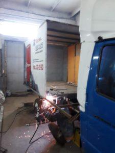 удлинение фургона